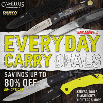 Knife Sale at Wing Supply – Save Up to 80%